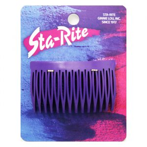 Side Combs in Colors - Purple