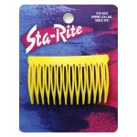 Side Combs in Colors - Yellow