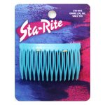 Side Combs in Colors - Teal