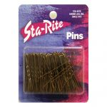 Untipped Hairpins - 100ct. - Bronze