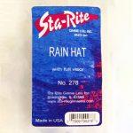 Vinyl Rain Cap