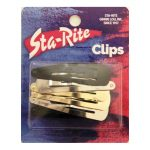 Metal Snap-Eze Clips - 6ct. - Assorted