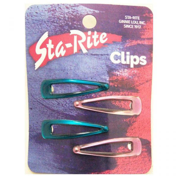 "Assorted Snap-Eze Clips (2"")"