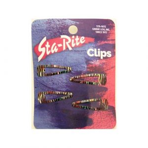 Striped Snap-Eze Clips