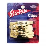 Metal Snap-Eze Clips - 6ct. - Gold