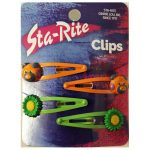 Decorated Snap-Eze Clips
