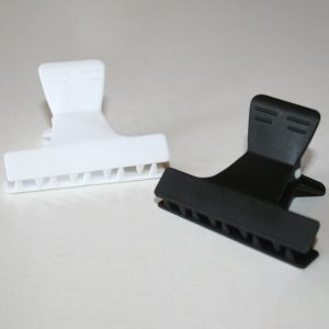 "Black/White Clamps (2"")"