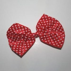 Polka Dot Bow Barrette