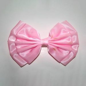 Double Satin Bow Barrette