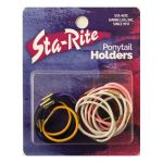 Small Elastic Ponytail Holders - Assorted