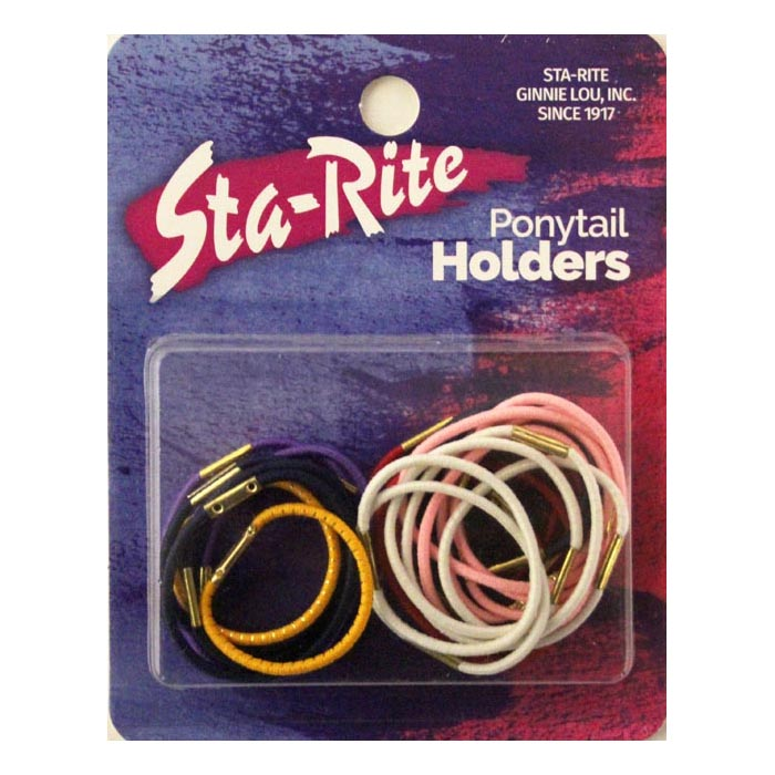 Small Elastic Ponytail Holders – Assorted