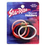 Fat Elastic Ponytail Holders - Assorted Colors