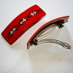 Anchor Barrette - Red