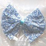 Floral Cotton Bow