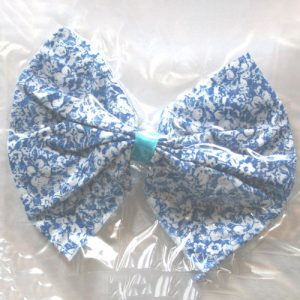 Floral Cotton Bow