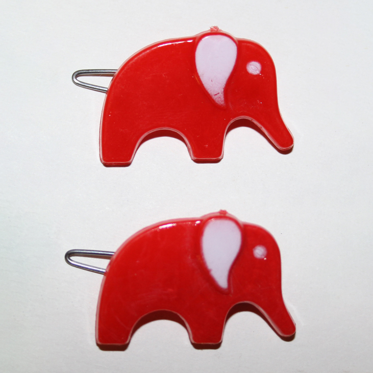 Elephant Hair Barrettes