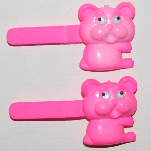 Bear Hair Barrettes